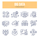 Big Data Doodle Icons - GraphicRiver Item for Sale