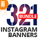 321 Instagram Promotional Bundle - GraphicRiver Item for Sale