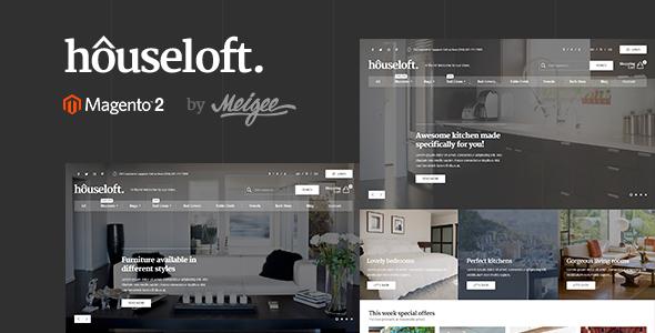 Houseloft – Responsive Magento 2 Theme