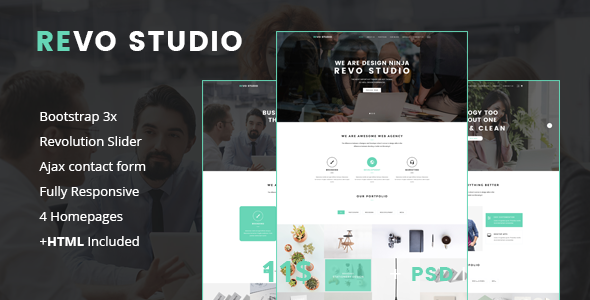Revo Studio – Multipurpose Joomla Template