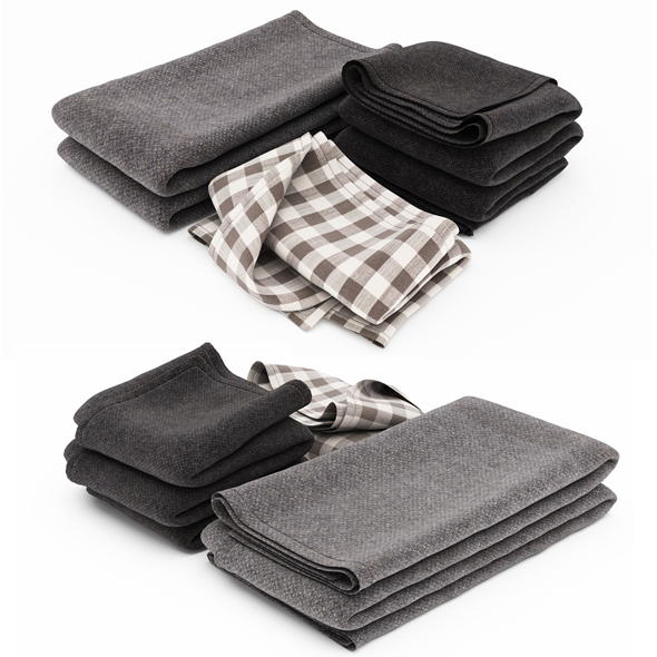 Blanket Collection 03 - 3DOcean Item for Sale
