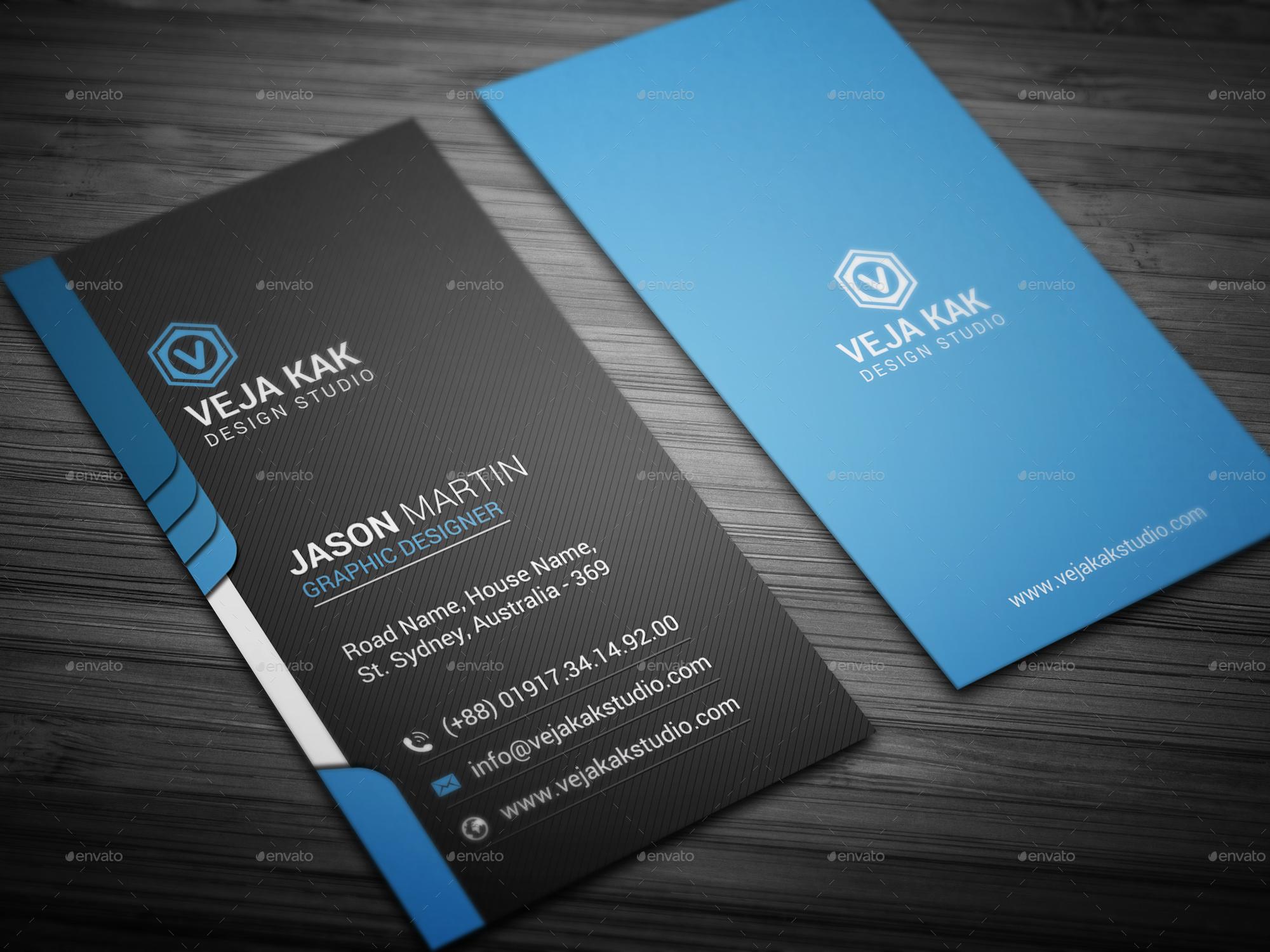 smart business card by vejakakstudio