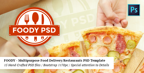 Foody – Multipurpose Fast Food/Restaurant PSD Template