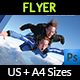 Skydiving Flyer Template - GraphicRiver Item for Sale