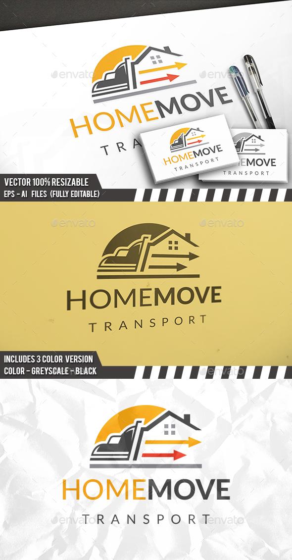Transport House Logo - Buildings Logo Templates