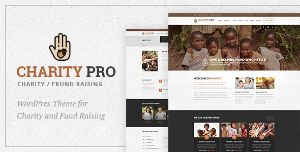 Charity Pro : Charity and Fund Raising WordPress Theme - Charity Nonprofit