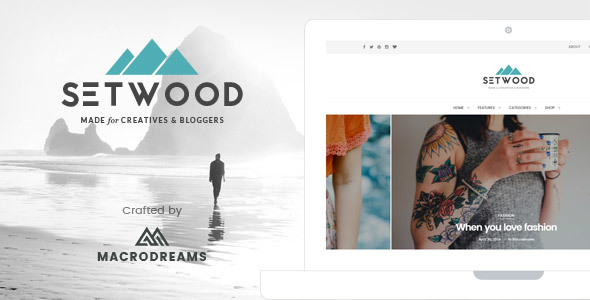 Setwood – WordPress Blog | Shop Theme
