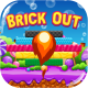 Brick Out - HTML5 Game, Mobile Version+AdMob!!! (Construct-2 CAPX)