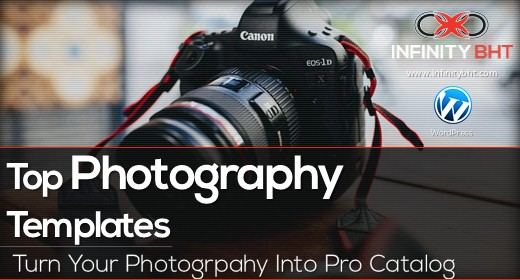 Top Photography Portfolio Templates | InfinityBHT