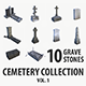 Gravestone collection vol 1 - 3DOcean Item for Sale