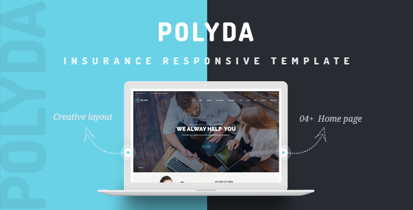 VG Polyda - WordPress Theme for Insurance Agency