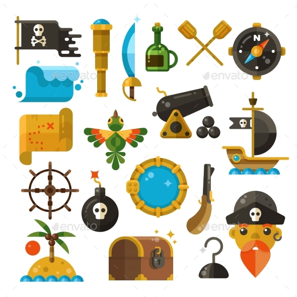 Sea Adventure - Decorative Symbols Decorative