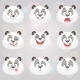 Happy Panda Set - GraphicRiver Item for Sale