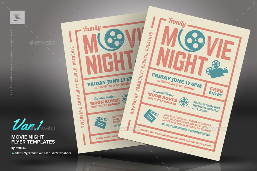 Screenshots/01_graphic River Movie Night Flyer Templates Kinzi21 ...