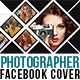 Photographer Photo Display Facebook Cover with 6 Color Effect - GraphicRiver Item for Sale