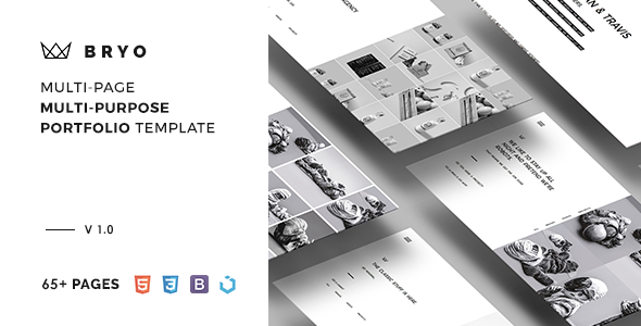 Bryo – Multi-Page Multi-Purpose Portfolio Template