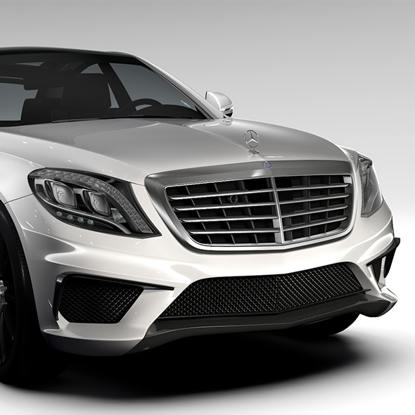 Mercedes Benz S 63 AMG W222 2016 - 3DOcean Item for Sale