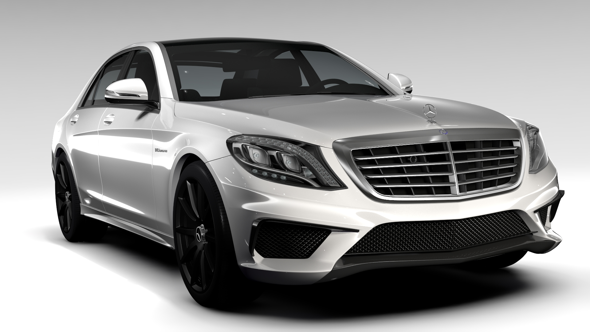 Mercedes benz s 63 amg w222 2016 by creator 3d 3docean for Mercedes benz creator