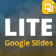 Lite Google Slides Presentation Template - GraphicRiver Item for Sale