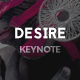 Desire Keynote Presentation - GraphicRiver Item for Sale
