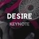 Desire Keynote Presentation - GraphicRiver Item for Sale