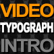 typography and video intro - VideoHive Item for Sale
