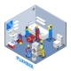Plumber Isometric Composition