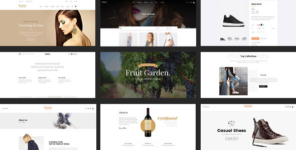 Image of Scara - Multipurpose Virtuemart Template for Online Store