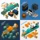Industrial Isometric Concept - GraphicRiver Item for Sale