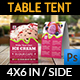 Ice Cream Table Tent Template Vol.4 - GraphicRiver Item for Sale