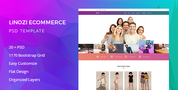 Linozi Online Shopping Template