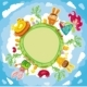 Easter planet - GraphicRiver Item for Sale