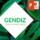 Gendiz Powerpoint Template - GraphicRiver Item for Sale