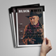 Black White Magazine Template - GraphicRiver Item for Sale