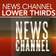 News Channel Lower Thirds - VideoHive Item for Sale