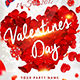 Valentines Day Flyer - Template - GraphicRiver Item for Sale
