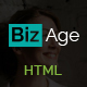 BizAge - One Page Parallax Creative HTML Template Nulled
