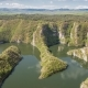 Unique Meanders in Canyon of the River Uvac, Serbia - VideoHive Item for Sale