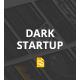 Dark StartUp - Google Slide - GraphicRiver Item for Sale