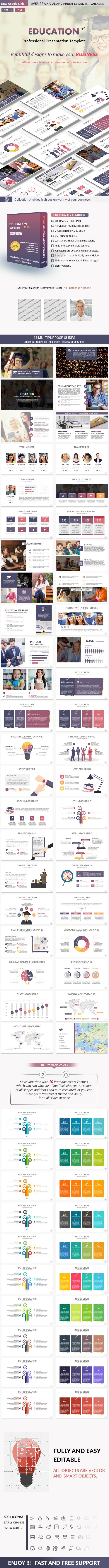 Education Google slides Presentation Template - Google Slides Presentation Templates