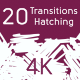 20 Transition Hatching - VideoHive Item for Sale