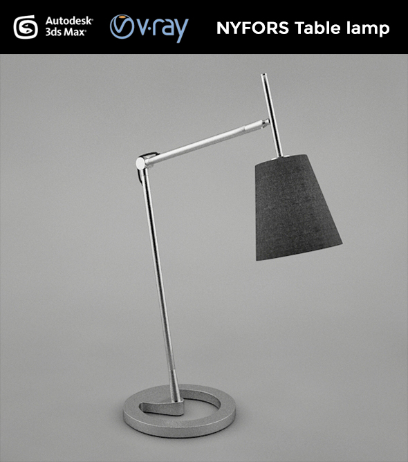 NYFORS Table Lamp - 3DOcean Item for Sale