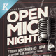 Open Mic Night Flyer Templates - GraphicRiver Item for Sale