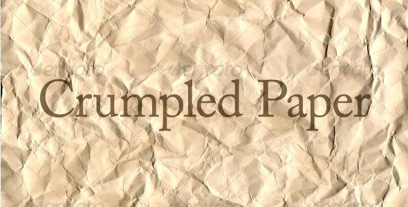 Crumpled Paper - Paper Textures