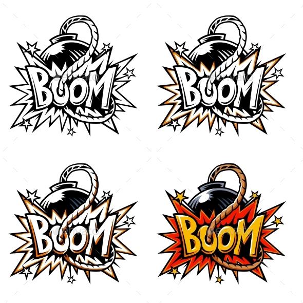 Vector Comics Icon - Decorative Symbols Decorative