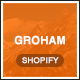 Groham - Fashion eCommerce Shopify Theme - ThemeForest Item for Sale