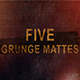 Grunge Stocks - 5 Unique Mattes - VideoHive Item for Sale