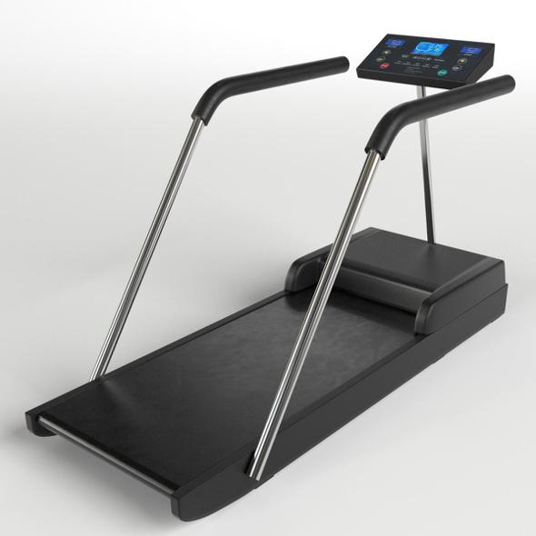 Gym Equipment - Treadmill Tapis-Roulant - 3DOcean Item for Sale