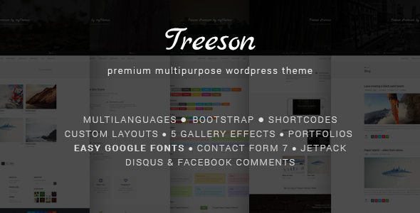 Treeson - Multipurpose WordPress Theme - Miscellaneous WordPress