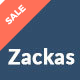 Zackas – WooCommerce WordPress Theme - ThemeForest Item for Sale